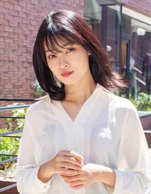 ミディアム レイヤーカット 可愛い髪型(KI-081)