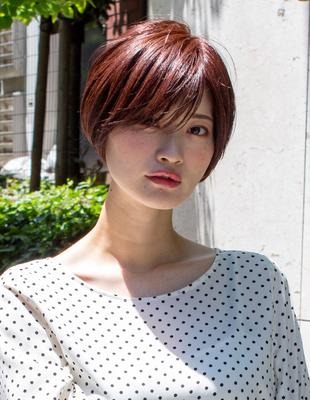 ショート ショートボブ  可愛い髪型(KI-082)