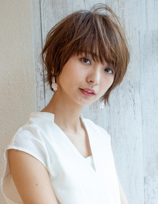 ショート ショートボブ  可愛い髪型(KI-086)