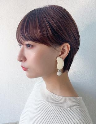 ショート ショートボブ  可愛い髪型 髪質改善(KI-094)
