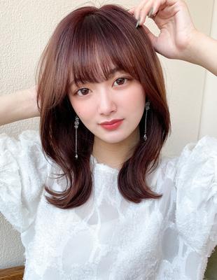 簡単な巻きで可愛い韓国ミディ(MM-12)