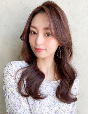 かきあげ前髪で韓国アイドルみたいにオルチャンヘアを目指そう◎(MM-44)