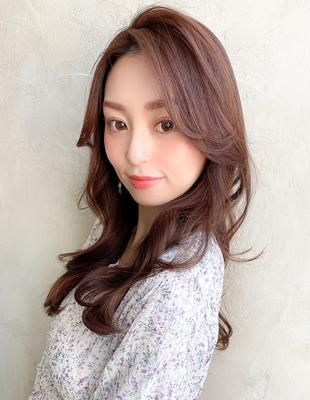 長め前髪前髪なし韓国アイドル風かきあげバングでヨシンモリ(MM-50)