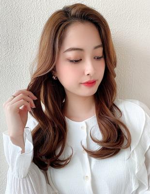 前髪なしかきあげバングで韓国女優ヨシンモリヌナモリ(MM-51)