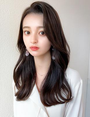 韓国女優風 かきあげ小顔でモテ髪(HE-13)