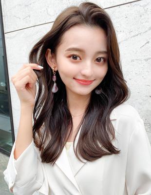 韓国ヘア かき上げ前髪ヨシンモリ(HE-17)
