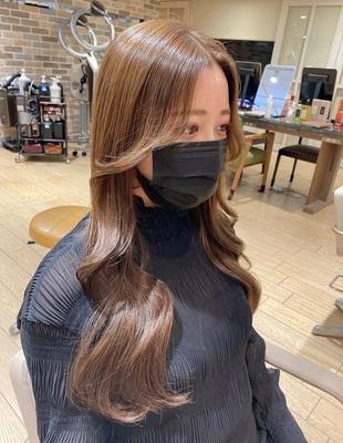 ヨシンモリ/韓国ヘア/エギョモリ/韓国女優風/韓国アイドル風