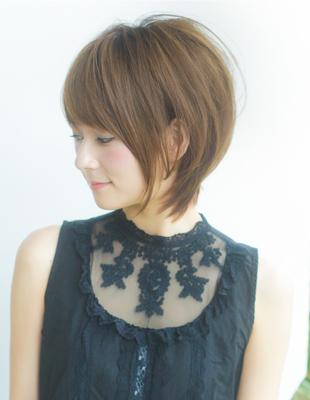 ひし形ボリュームショートヘア(YR-285)