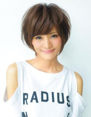小顔ふんわりショートヘアパーマ(YR-204)