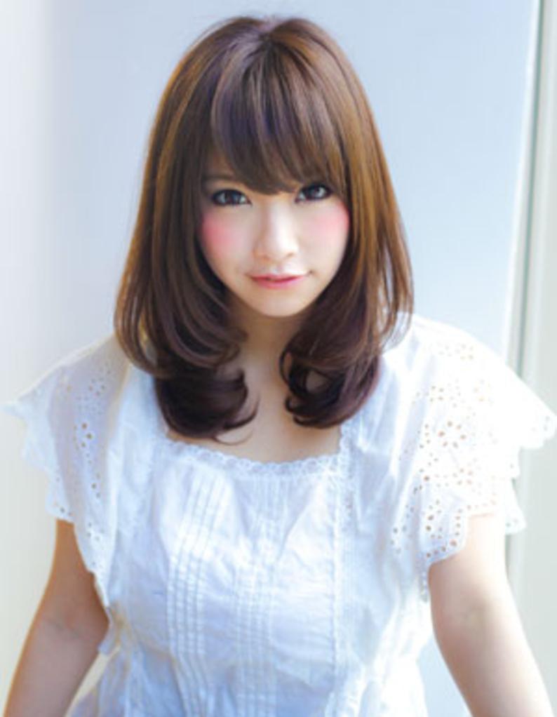ナチュラル可愛いセミロング Yr 207 ヘアカタログ 髪型 ヘア