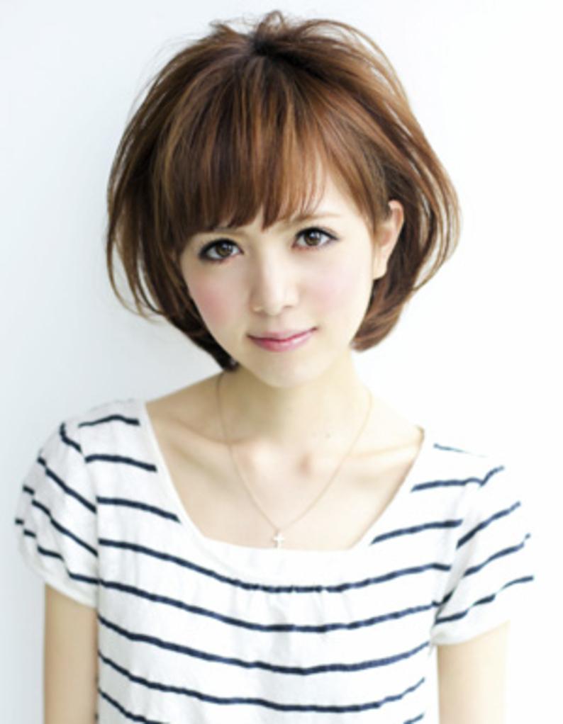 ショートボブ【ミセス髪型】(YR,242)