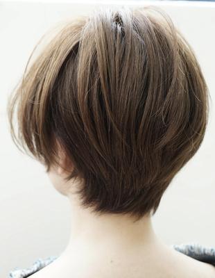 バックシルエットが綺麗な髪型(HR-185)