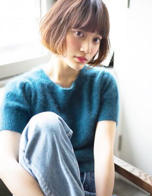 小顔アゴラインボブ(HR-225)