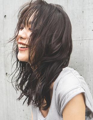 暗髪レイヤーセミディ(HR-261)