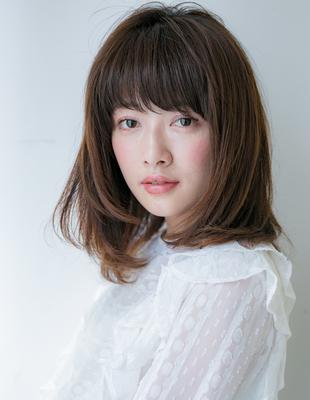 大人の前髪パーマ(HR-419)