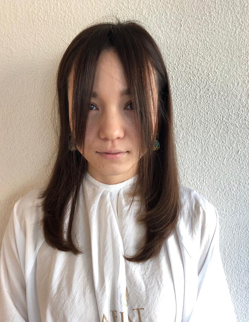 大人可愛い前髪カット(hr-438) | ヘアカタログ・髪型・ヘアスタイル