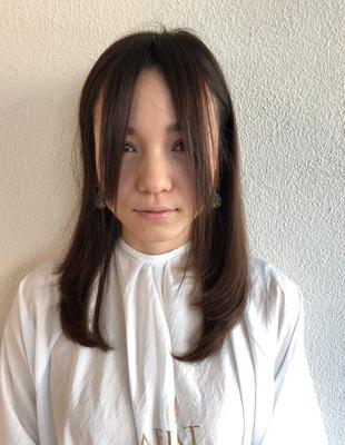 大人可愛い前髪カット(HR-438)
