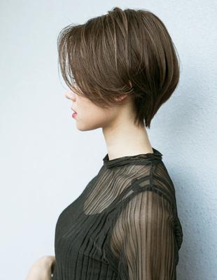 頭が小さく見えるガールフレンドショート(HR-503)
