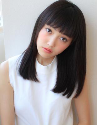 艶髪オシャレぱっつんスタイル(SY-462)