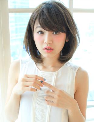 可愛いひし形ミディアムスタイル(SY-473)