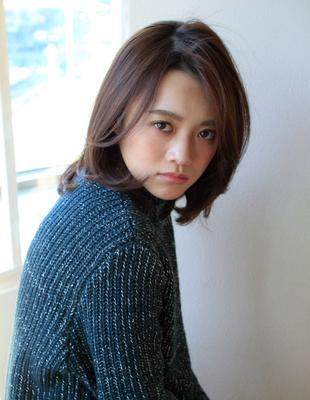 大人キレイな長め前髪(SY-481)