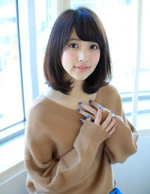 大人可愛い髪ミディ(SY-532)