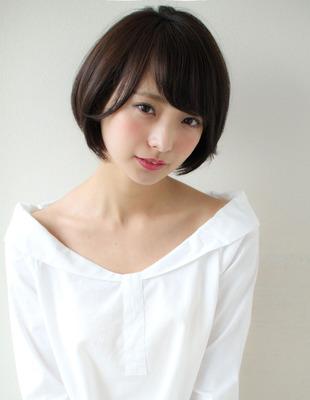 大人可愛い髪ショートボブ(SY-533)