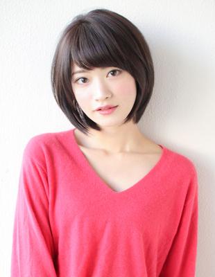 大人可愛い似合わせ小顔ショートボブ(SY-562)