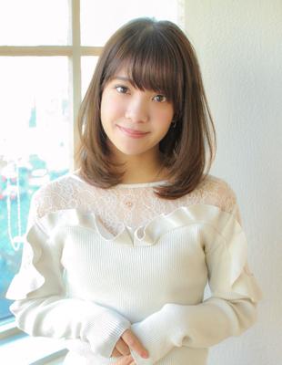 大人可愛い小顔ミディアム(SY-563)