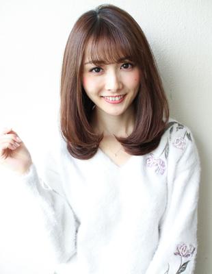 大人可愛いシースルー☆セミディスタイル(SY-584)