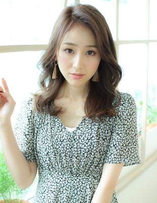 前髪長め大人☆レイヤースタイル(SY-585)