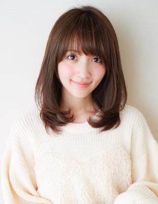 前髪パーマと毛先ワンカール(SY−383)