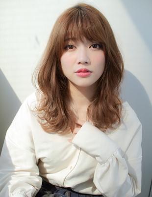 くびれラフカール前髪パーマ(SY-390)