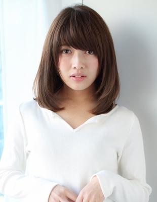 前髪パーマと毛先ワンカール(SY-394)