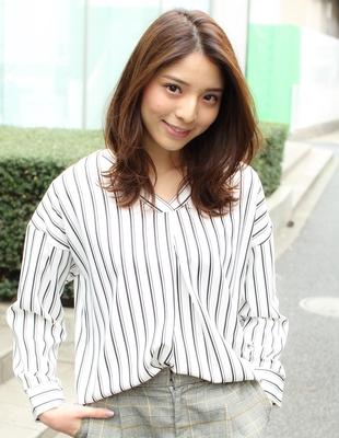 長め前髪のくびれミディ(SY-402)