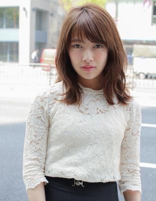 くびれミディと前髪パーマ(SY-404)