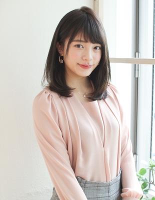 お手入れ簡単ワンカール前髪パーマ(SY-432)