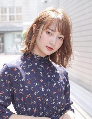 小顔ボブ ラフパーマ 前髪パーマ(SY-434)