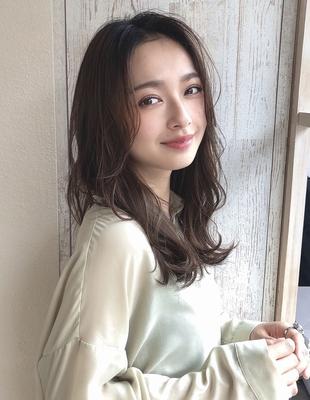 大人可愛い 前髪なし 丸顔面長に似合う 20代30代(SY-440)()