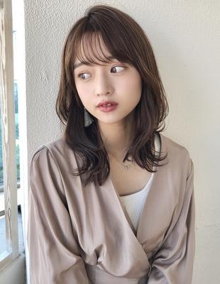 色気シースルー前髪くびれヘア20代30代(SY-443)