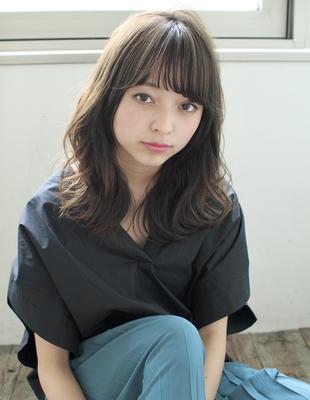 透け感前髪シースルー大人かわいい20代3代(SY-447)