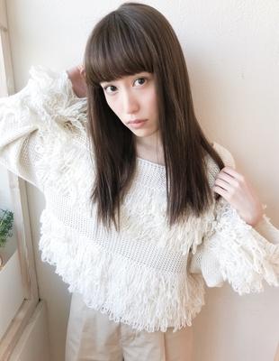重めぱっつん前髪ストレート(IT-128)