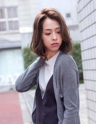 ゆるめ毛束感ワンカールパーマ(IT-130)