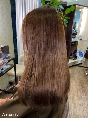 艶髪 上品ブラウンカラー