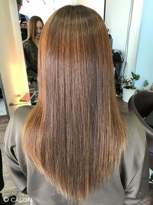 うねり・クセによってスタイリングでお悩みの方に髪質改善縮毛矯正