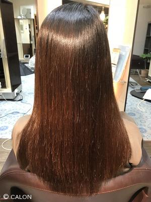 【30代・40代】酸性縮毛矯正でダメージを軽減