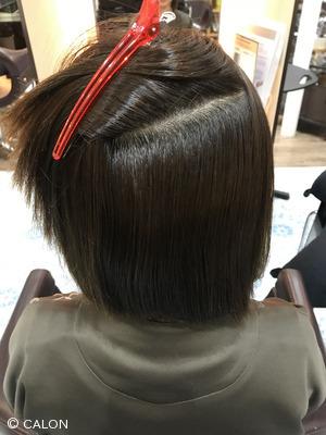 【30代・40代】根元折れ撃退!髪質改善ストレートで自然な丸みに