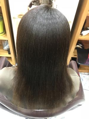 ダメージを最小限に抑え髪質から改善縮毛矯正