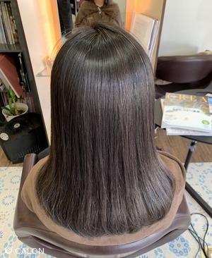 【30代・40代】縮毛矯正で髪質改善