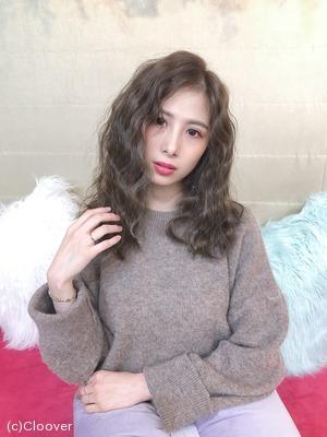抹茶亮米✖️長捲髮